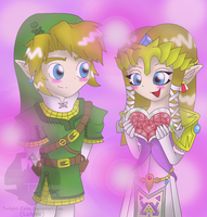 A ZeLink Valentine by Luifex