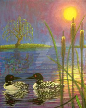 Loons by A1WEND1L