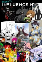 my Influence map that doesn't make sense by MickieAleksanderThe2