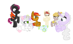Ask the blank flanks-Spin the bottle. by ChocoCrazeh