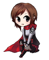 Chibi Ruby  by BeIIPaws
