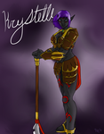 Krystelle for ElementalHeroShadow2 by Kujjles