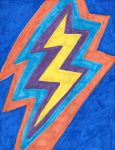 Copic Complementary Color Lightning by FallOutWoman