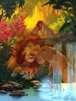 Lion King Love by Chrippy1