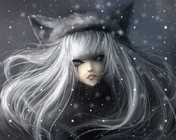 Wolf Princess - hbd gift from me to me XD by ximbixill