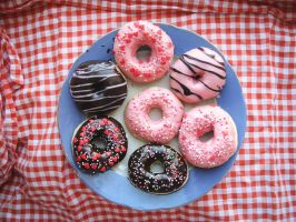 homemade donuts! by Mirrelley