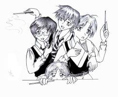 +The Marauders+ by Axtar