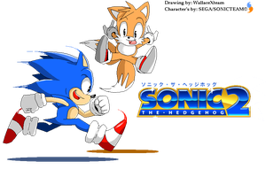 Sonic The Hedgehog 2 by wallacexteam