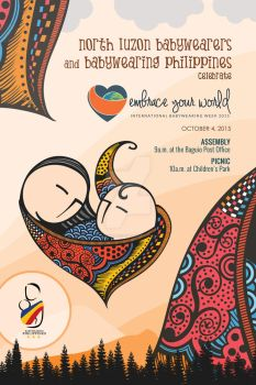 North Luzon Babywearers Poster by ijographicz