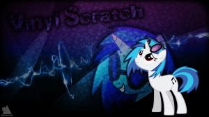 Vinyl Scratch Wallpaper 1 by BigMemoire