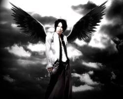 Aoi - Dark Angel - by InTheMiddleOfChaos