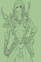 Aion Assassin WIP by Unfairprince