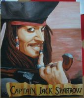 Captain Jack Sparrow by Namipulla