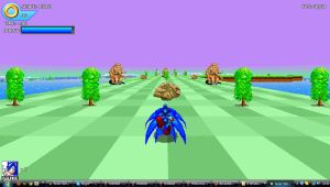 Welcome to my Fanstey Zone...Sonic 3D game by ClassicSonicSatAm