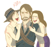 WE LOVE YOU JOHN MARSTON by angelwingkitsune
