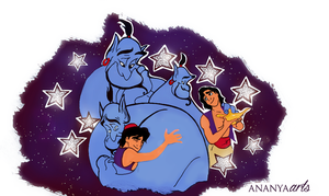 Genie, I'm gonna miss you by AnanyaArts