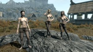 Pantyhose Skyrim Test by phafmods