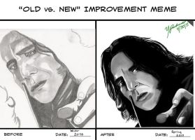 Old vs. New Improvement Meme by Lecter213