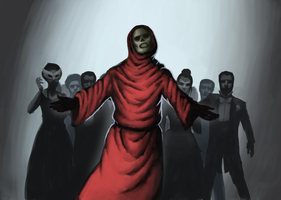 The Masque of the Red Death by TheRedOmega