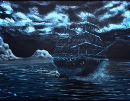 Ghost Ship by EvansFx