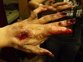 make-up test, hand by MorningGlory34