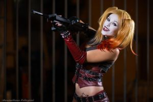 Harley Quinn (Batman) by Maxsy66