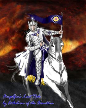 Fingolfin's Last Ride by EcthelionF
