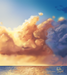 Speed Paint: Caribbean Sky by RedSlicer
