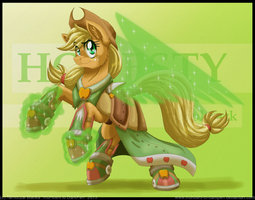 Battle Armored Applejack by InuHoshi-to-DarkPen