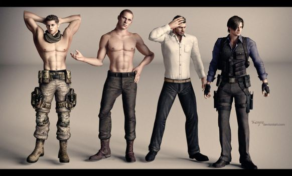 Sexy men by Keyre