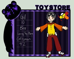 Toy Store Gil App by Electric-Banana