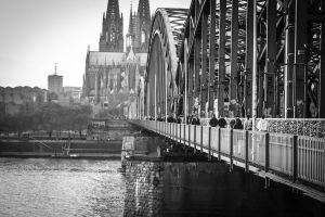 Cologne on morning by Gildartz88