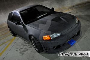 95 Civic Hatch Project 2 by xcustomz