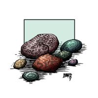 hex stones by MallonIllustration