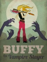 Buffy Poster by MonicaMcClain