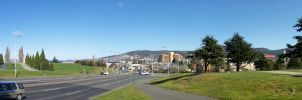Hobart Cityscape 4 by NYC55david