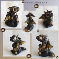 Steampunk Dragon Giveaway by BittyBiteyOnes