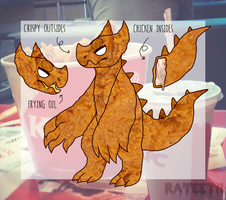 Fried Monster by RATEETH