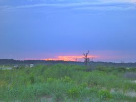 Sunset over Chincoteague 2 by usedbooks