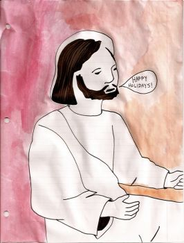 P.C. Jesus by andystrong