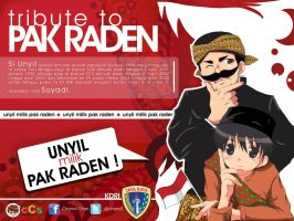 TRIBUTE TO PAK RADEN by chancil