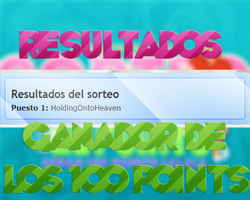 Sorteo Por 100 Points  {RESULTADOS} by radiatelovemc