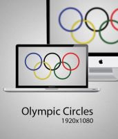 Olympic Cirlces Wallpaper by malikearnestinc