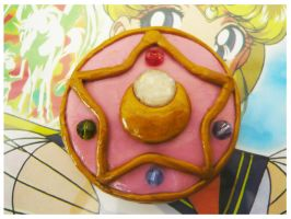 Sailor Moon R Brooch II by Silly-Thing