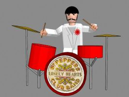 ringo starr final by JediKaputski
