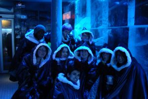 Charlottes 18th at the Ice Bar by KellyJane