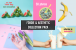 FOODIE AND AESTHETIC (COLLECTION PACK) by inaloveletter