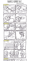 Hourly Comic Day 2013 by Lazulelle