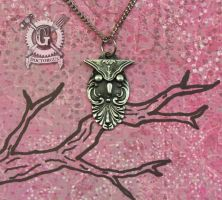 Spoon Owl Necklace by Doctor-Gus