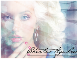 Christina Aguilera wallpaper 2 by silene7